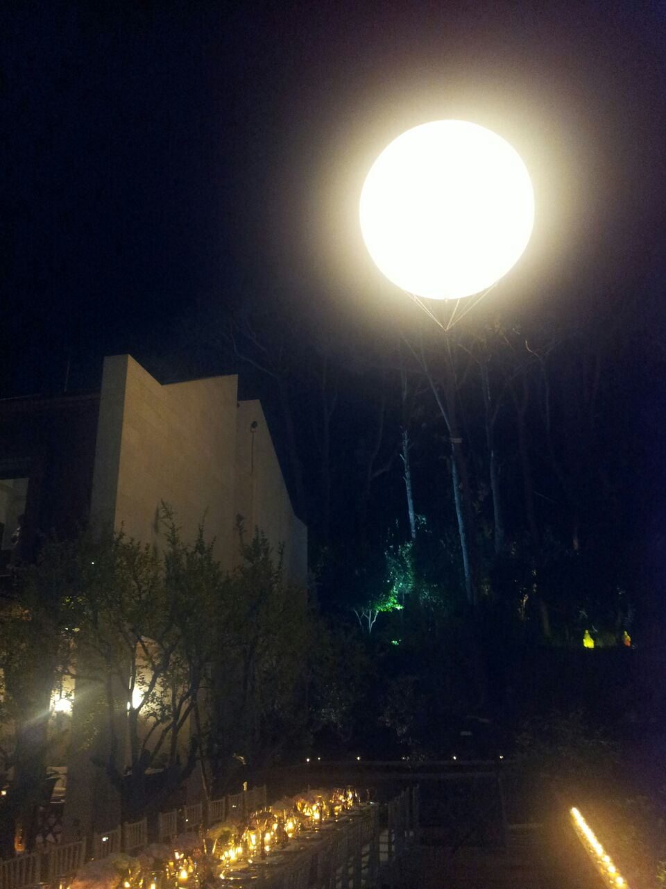 Moon Light Flying Balloon | Clients